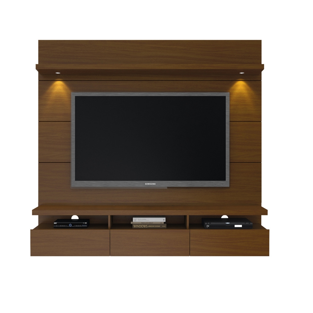 Cabrini 1 8 Floating Wall Theater Entertainment Center In