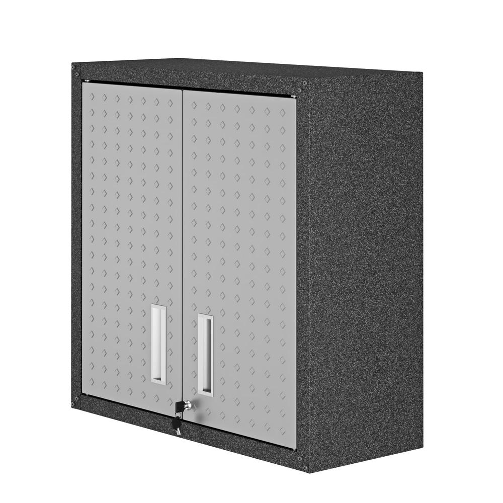 Fortress Floating Garage Cabinet. Picture 1