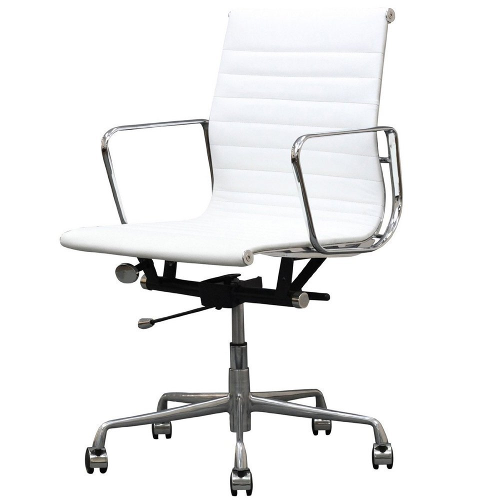 Furniture Black Leather Executive Side Chair 116 07 Flash Furniture