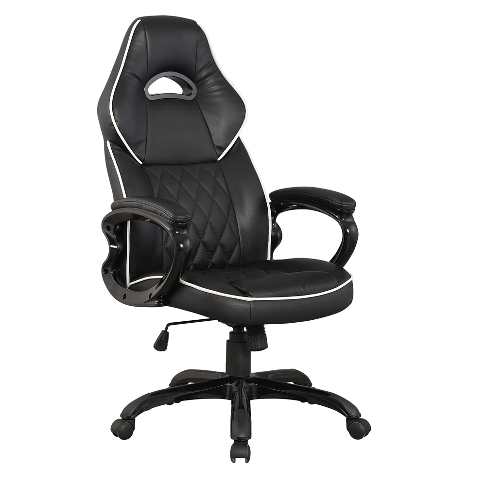 High Back Executive Sport Race Office Chair Color Black