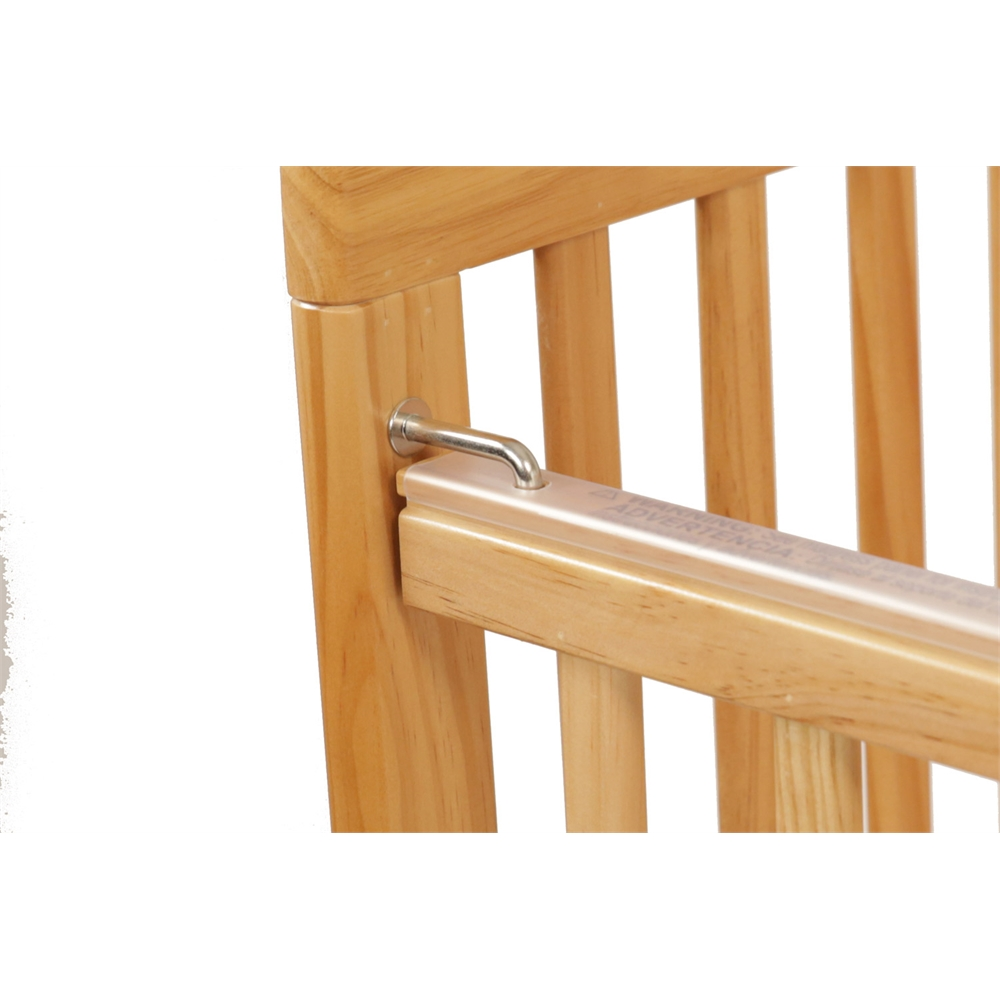 The Little Wood Crib – Natural, Natural. Picture 8