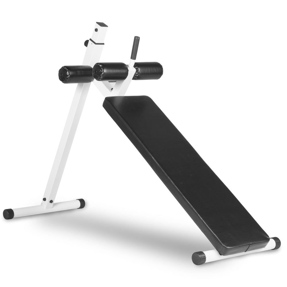Difference Between Incline And Decline Bench: 10 Position Adjustable Sit-up Ab Bench, 350 Lb. Capacity