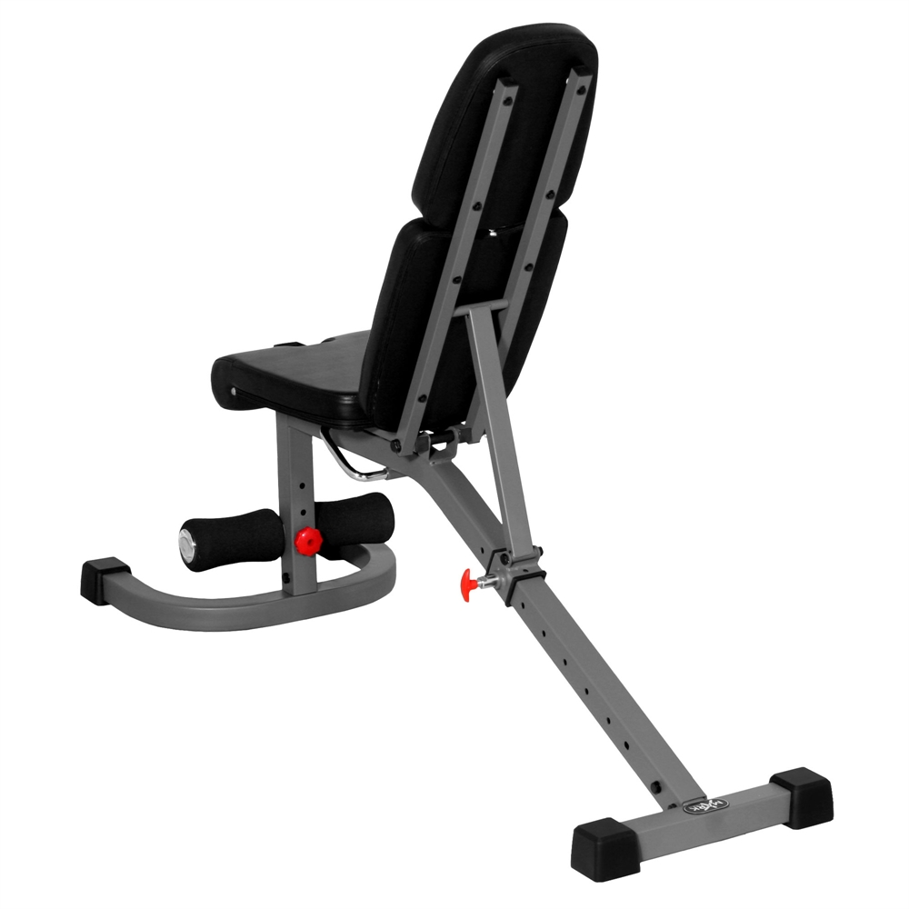 Fid Flat Incline Decline Weight Bench Features 8 Back Pad Adjustments From Decline To Full