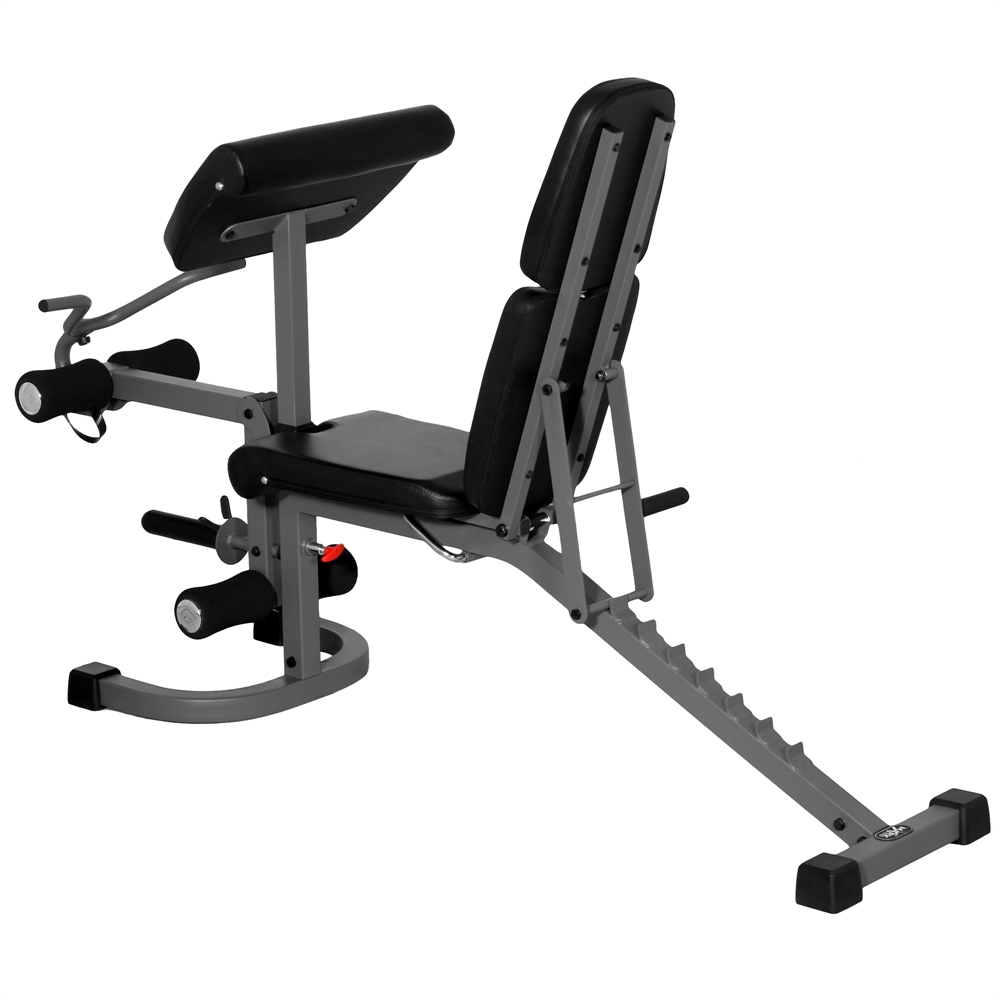 Fid Flat Incline Decline Weight Bench With Arm Curl And Leg Developer Xm 4418