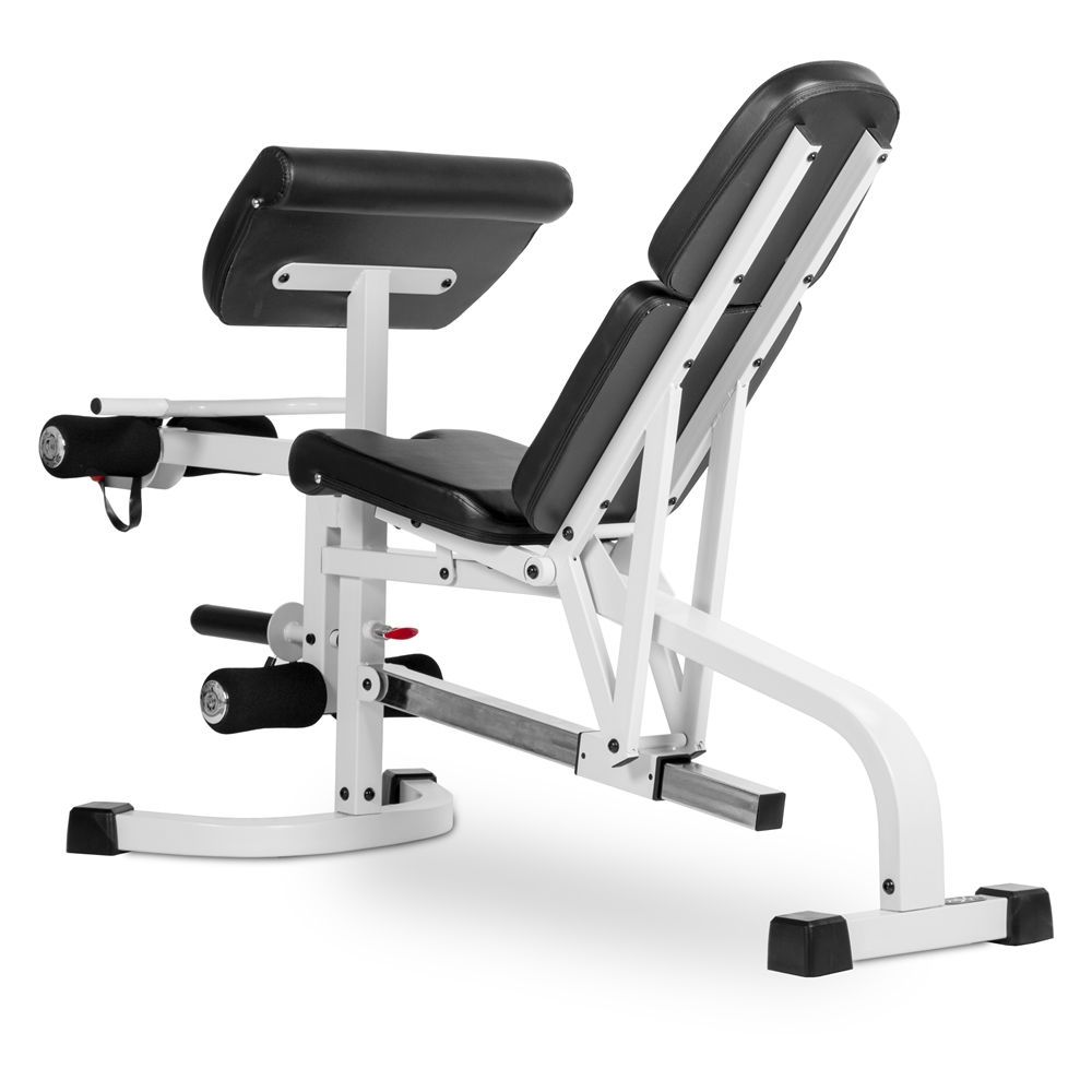 Fid flat incline decline weight bench has eight back pad adjustments from decline to full - Weight bench incline decline ...