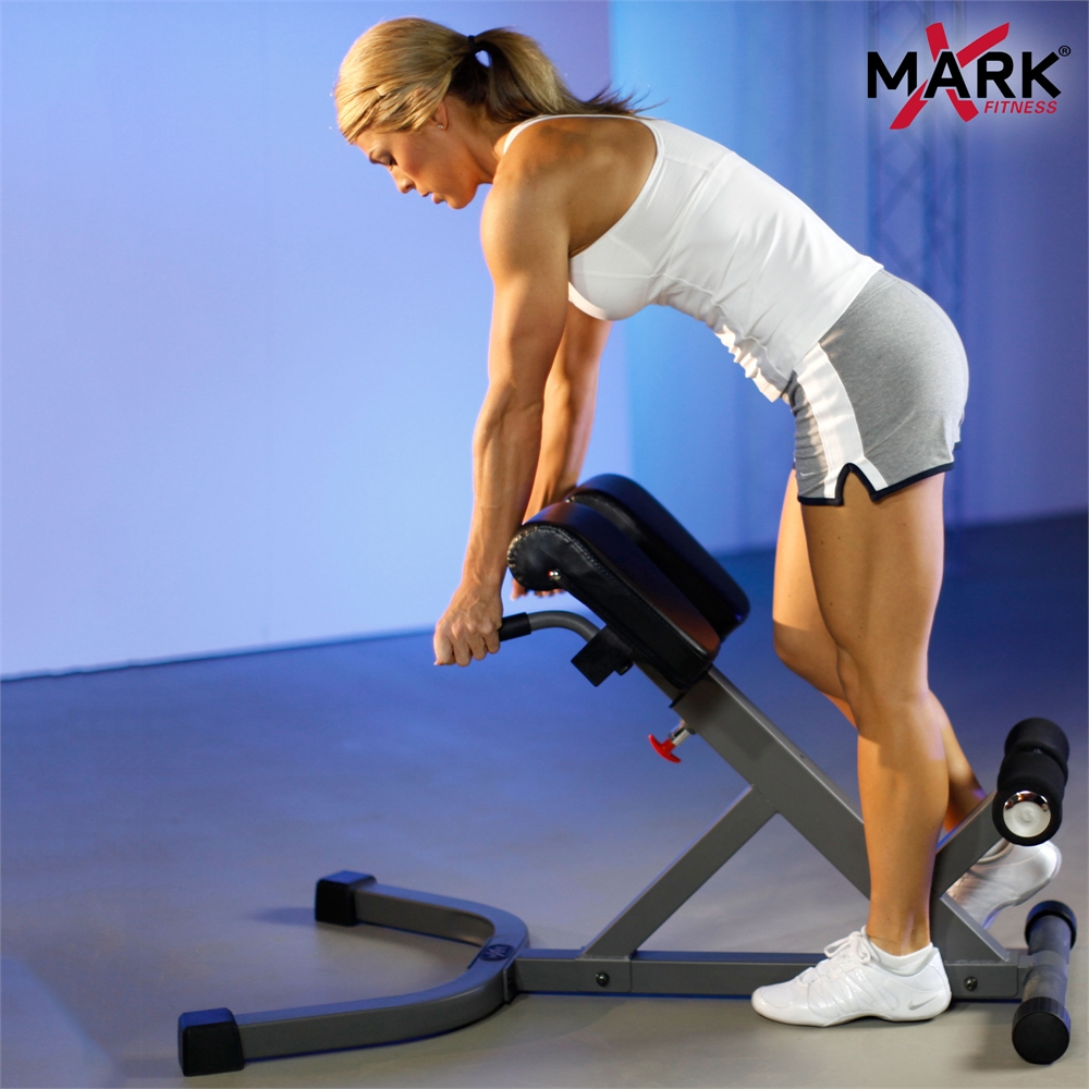 45 Degree Abdominal Back Hyperextension Roman Chair With