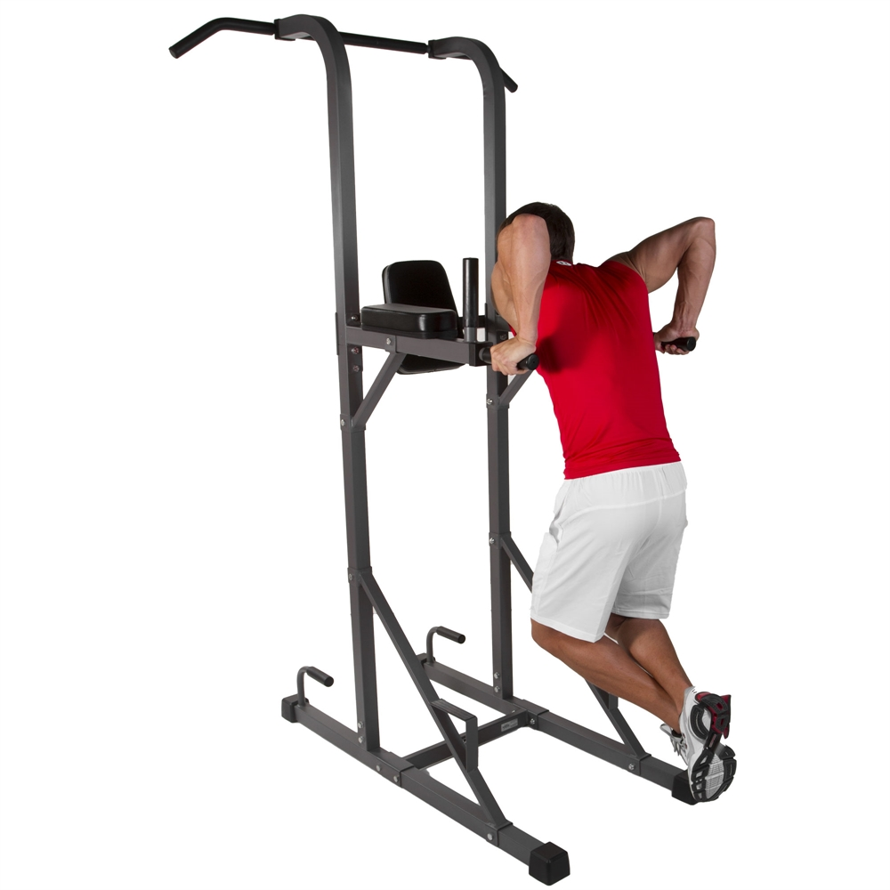 Multi-Function Power Tower With Vertical Knee Raise, Dip