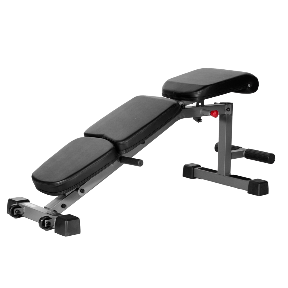 Adjustable Fid Flat Incline Decline Dumbbell Bench With Seven Levels Of Adjustment From Full