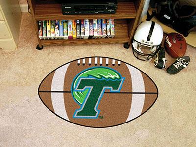 Fanmats Tulane Football Rug 20 5 Quot X32 5 Quot