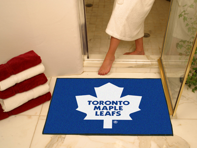 Fanmats Nhl Toronto Maple Leafs All Star Mat 33 75 Quot X42 5 Quot