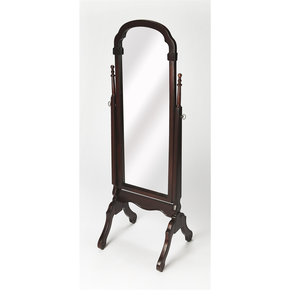 Meredith plantation cherry cheval mirror plantation cherry for Cheval mirror