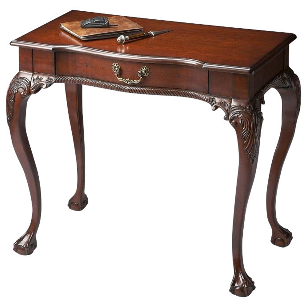 Dupree Plantation Cherry Writing Desk. Picture 1