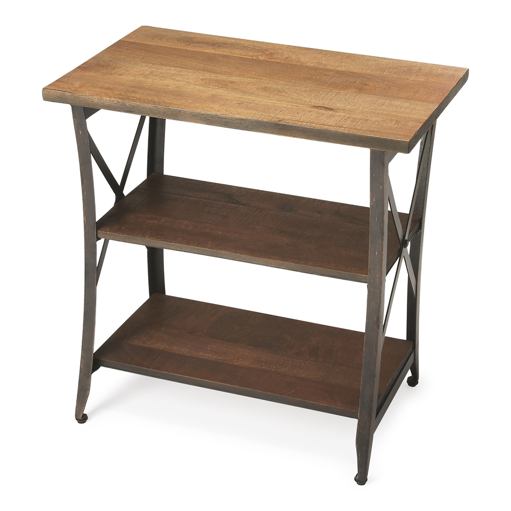 Industrial Chic: Overton Industrial Chic Side Table, Industrial Chic