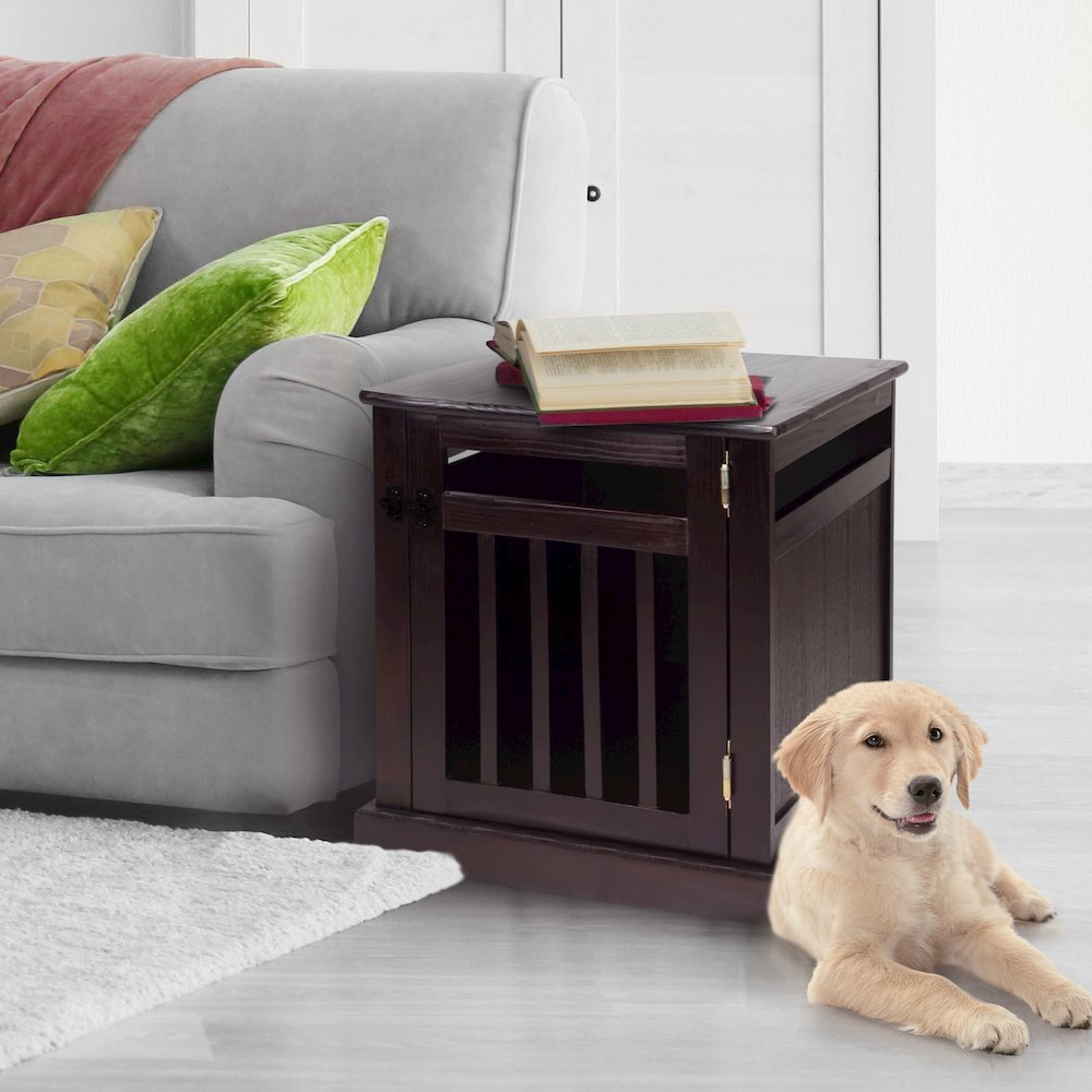 Chappy Pet Crate with Wood Slats. Picture 10