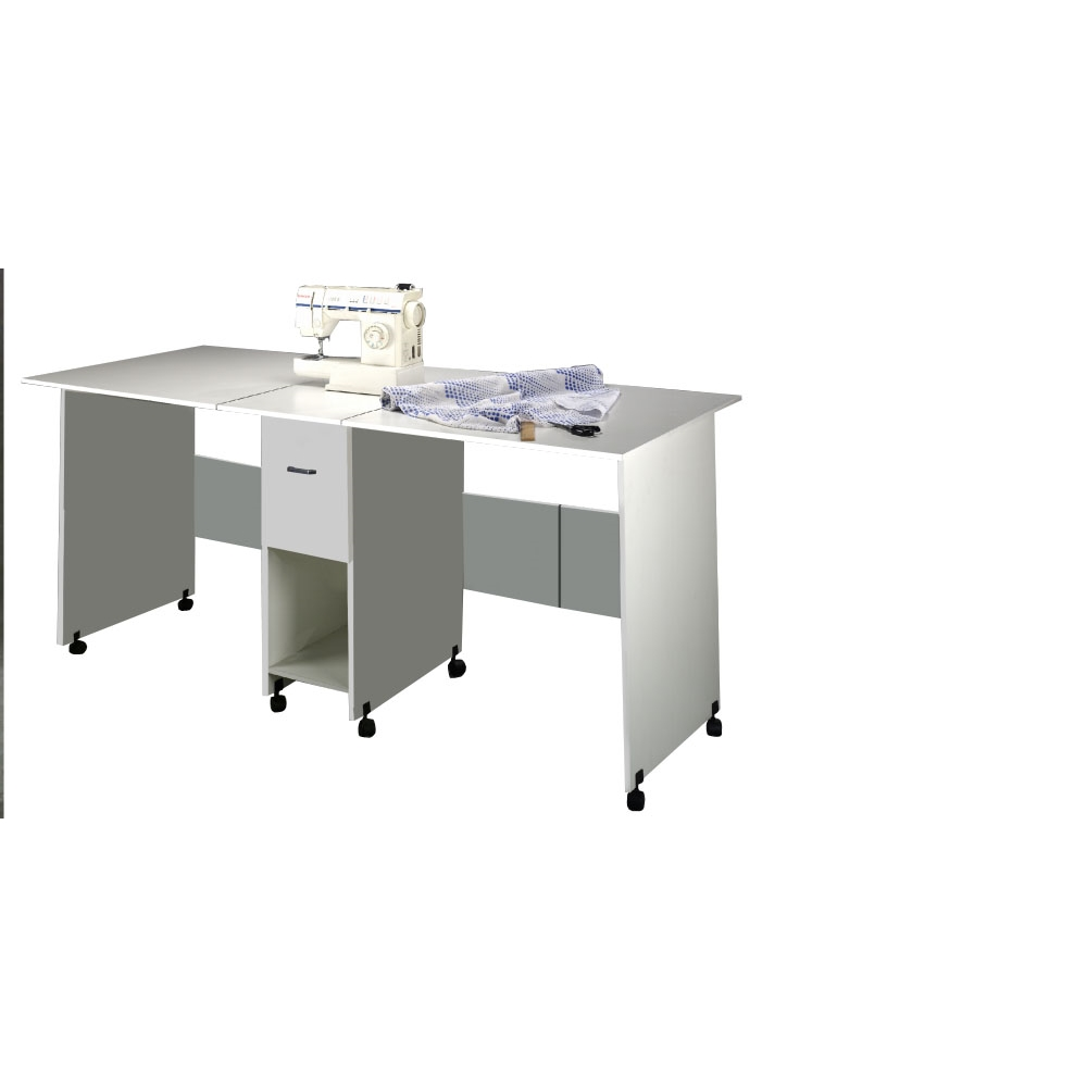 Craft Table With Drawer 76 X 36 X 35 White