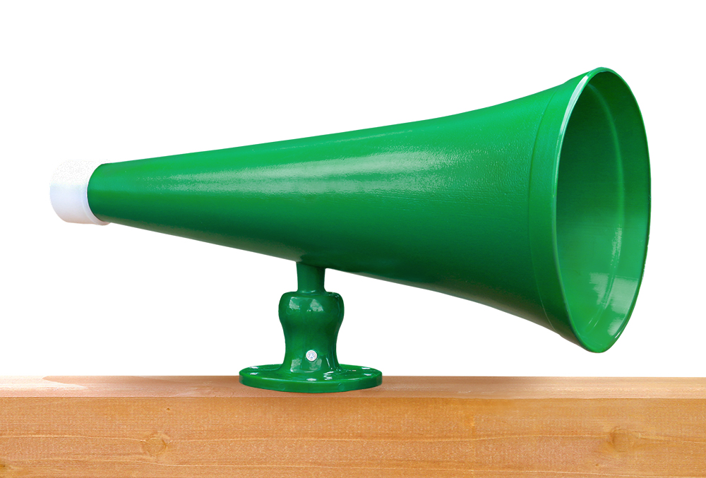 Megaphone Green