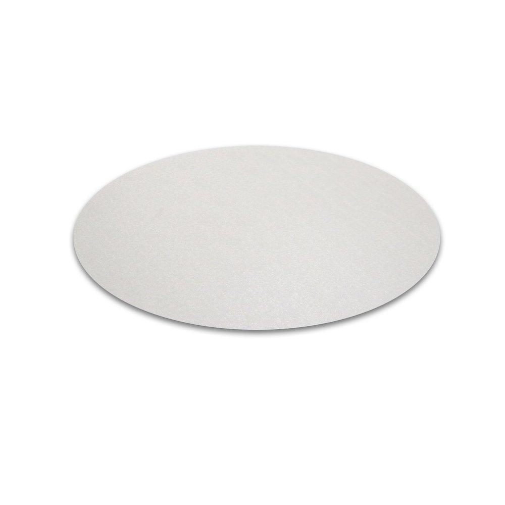 "Cleartex Circular General Purpose Floor Mat, For Hard Floor, Size - 36"" Diameter. Picture 1"