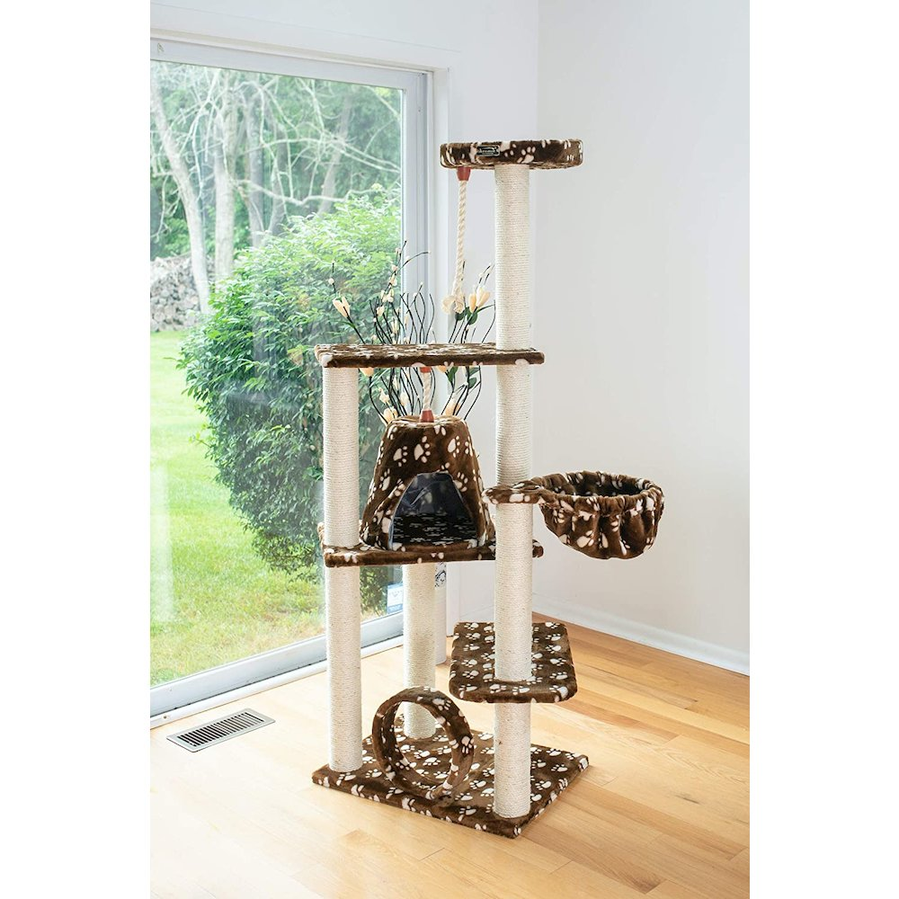 Model A6601 Classic Cat Tree with Four Play Features, Jackson Galaxy Approved. Picture 5