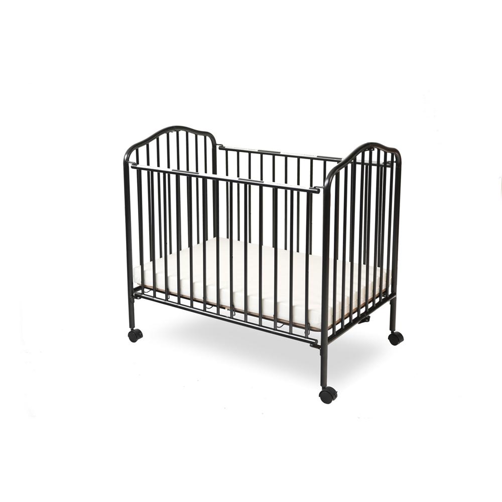 Mini/Portable/Compact Crib, Black. Picture 3