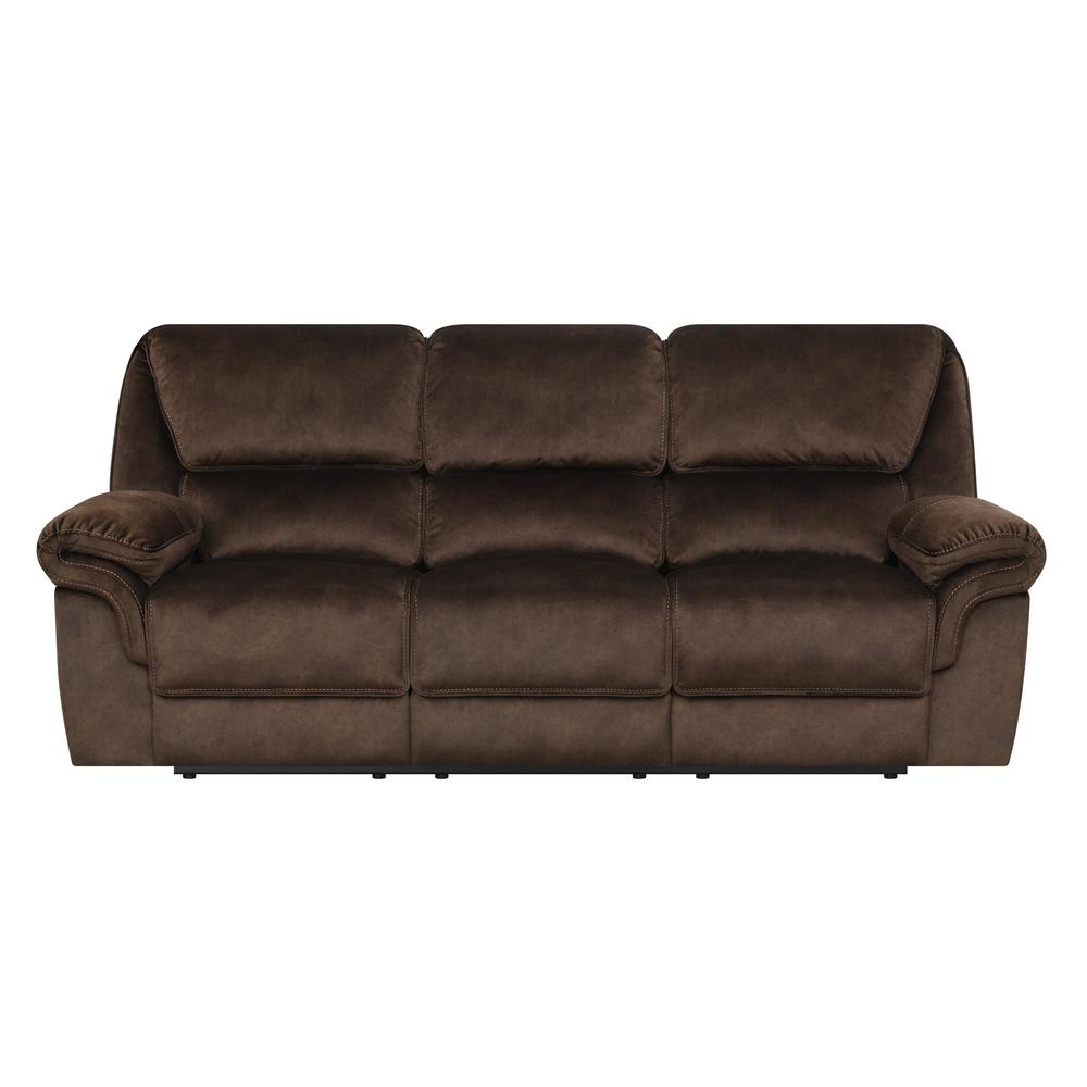 U2195-Domino Coffee-Prs, Power Reclining Sofa Domino Coffee. The main picture.