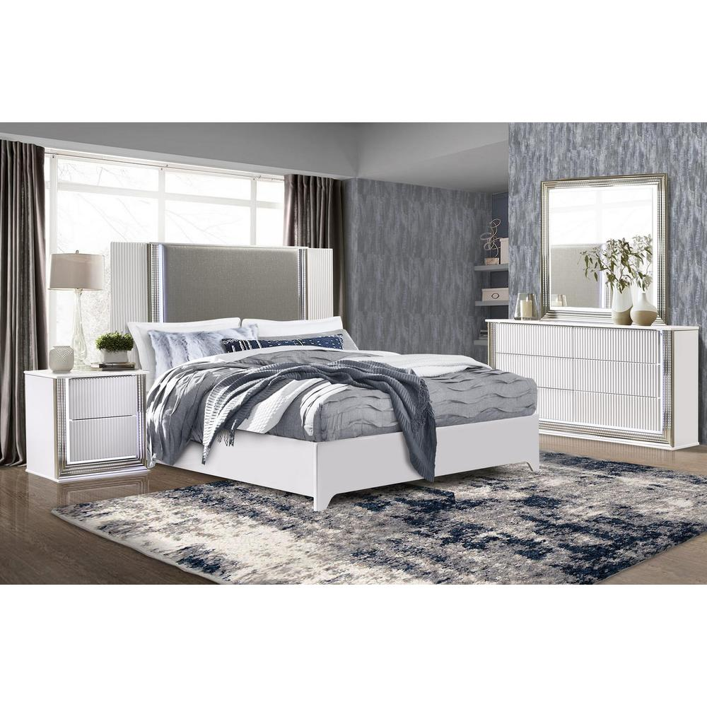 Aspen-Wh-Kb, Aspen King Bed. Picture 4