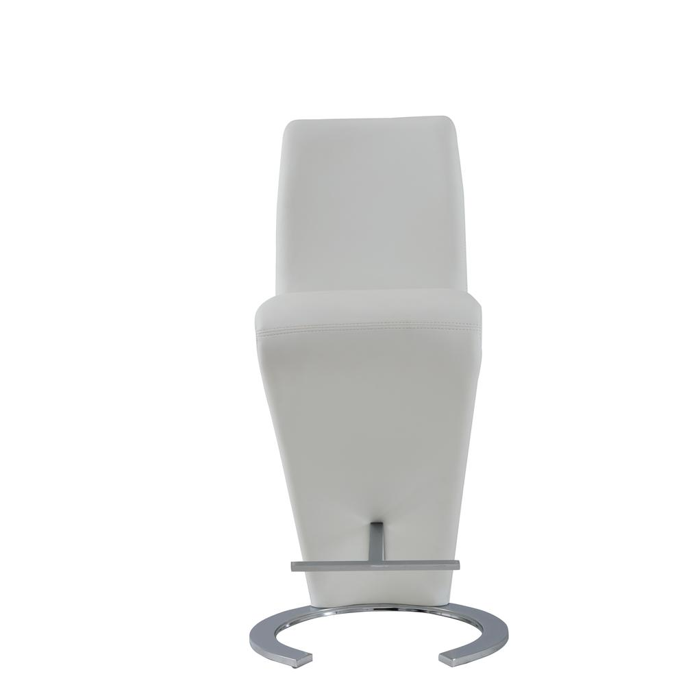 D9002Bs-Wht, Set Of 2 Barstools. Picture 1
