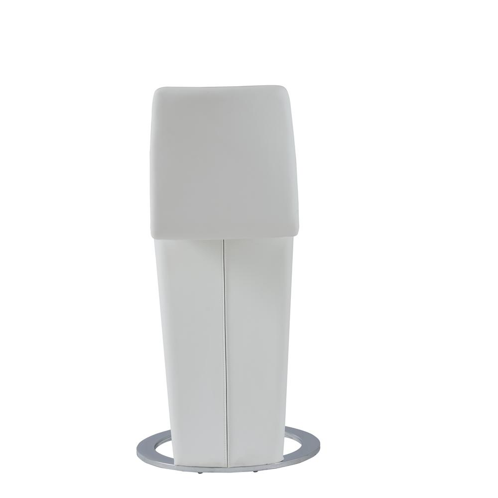 D9002Bs-Wht, Set Of 2 Barstools. Picture 4
