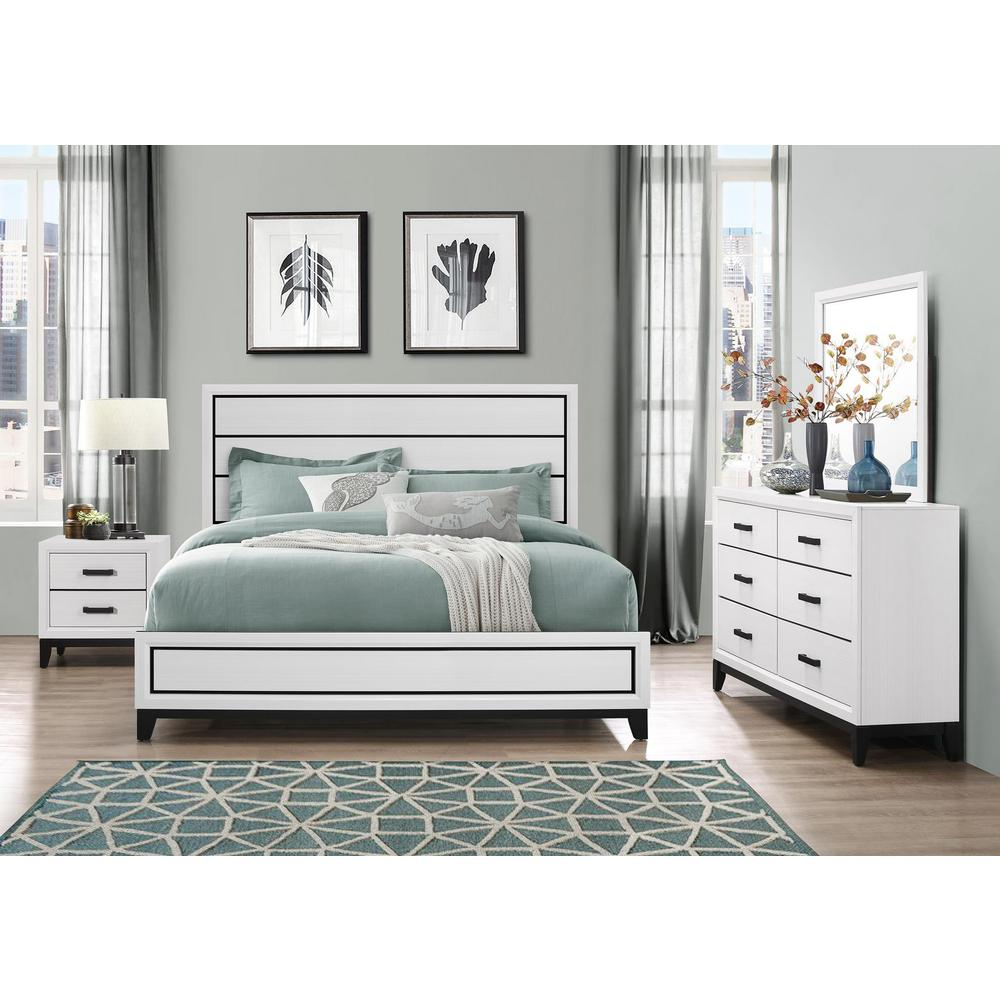 Kate-White-Ns, Nightstand. Picture 3