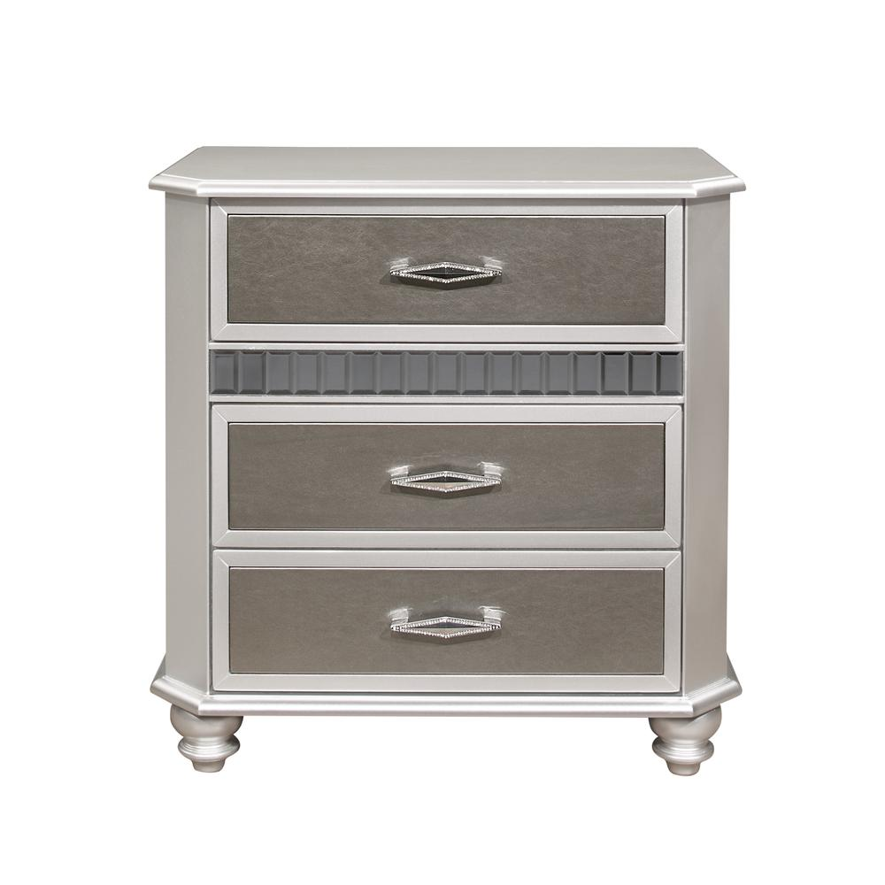 Remi-Silver-Ns, Nightstand. Picture 1