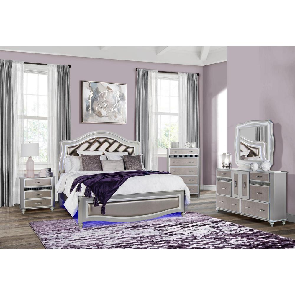 Remi-Silver-Ns, Nightstand. Picture 3
