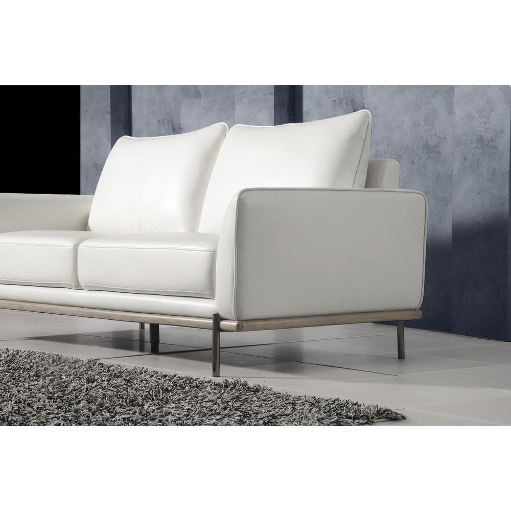 U858-Blanche White-S, Sofa. Picture 3