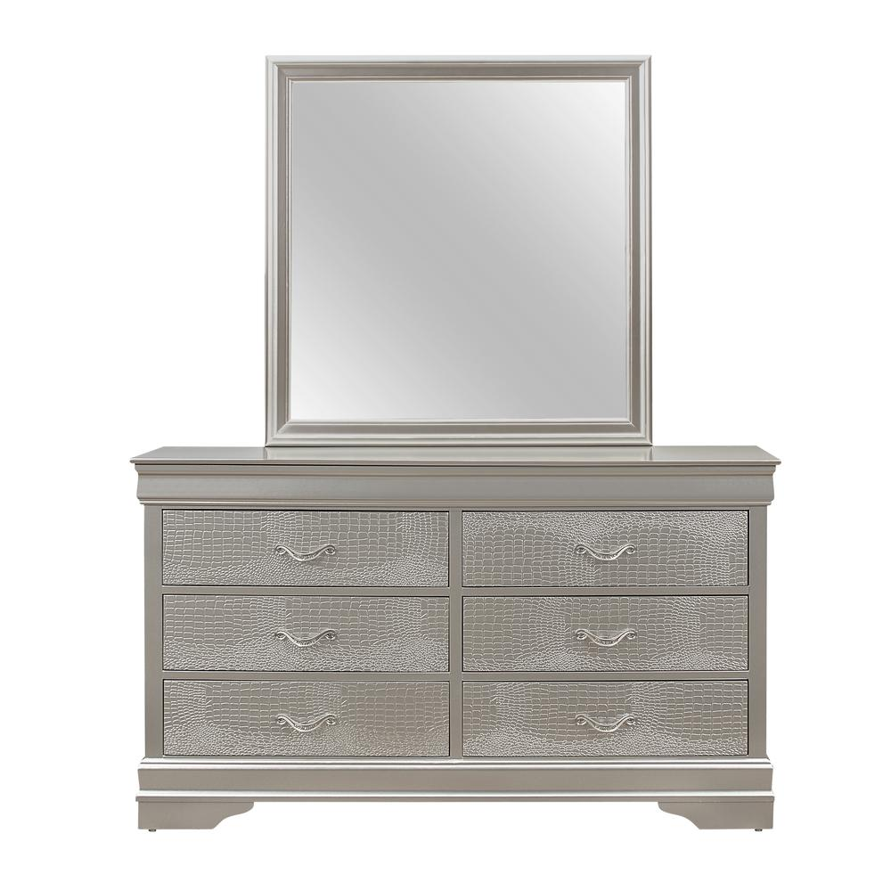 Verona-Silver-Dr, Dresser Silver. Picture 1