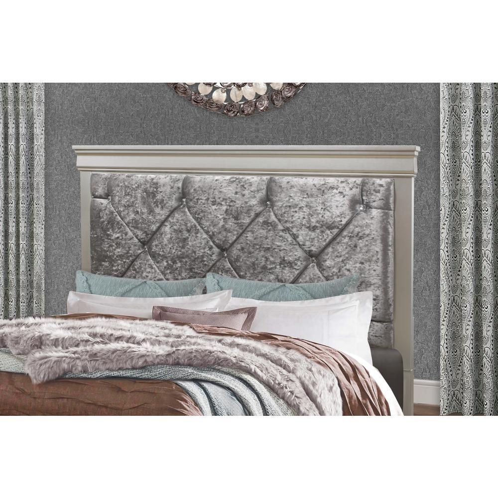 Verona-Silver-Tb, Twin Bed. Picture 3