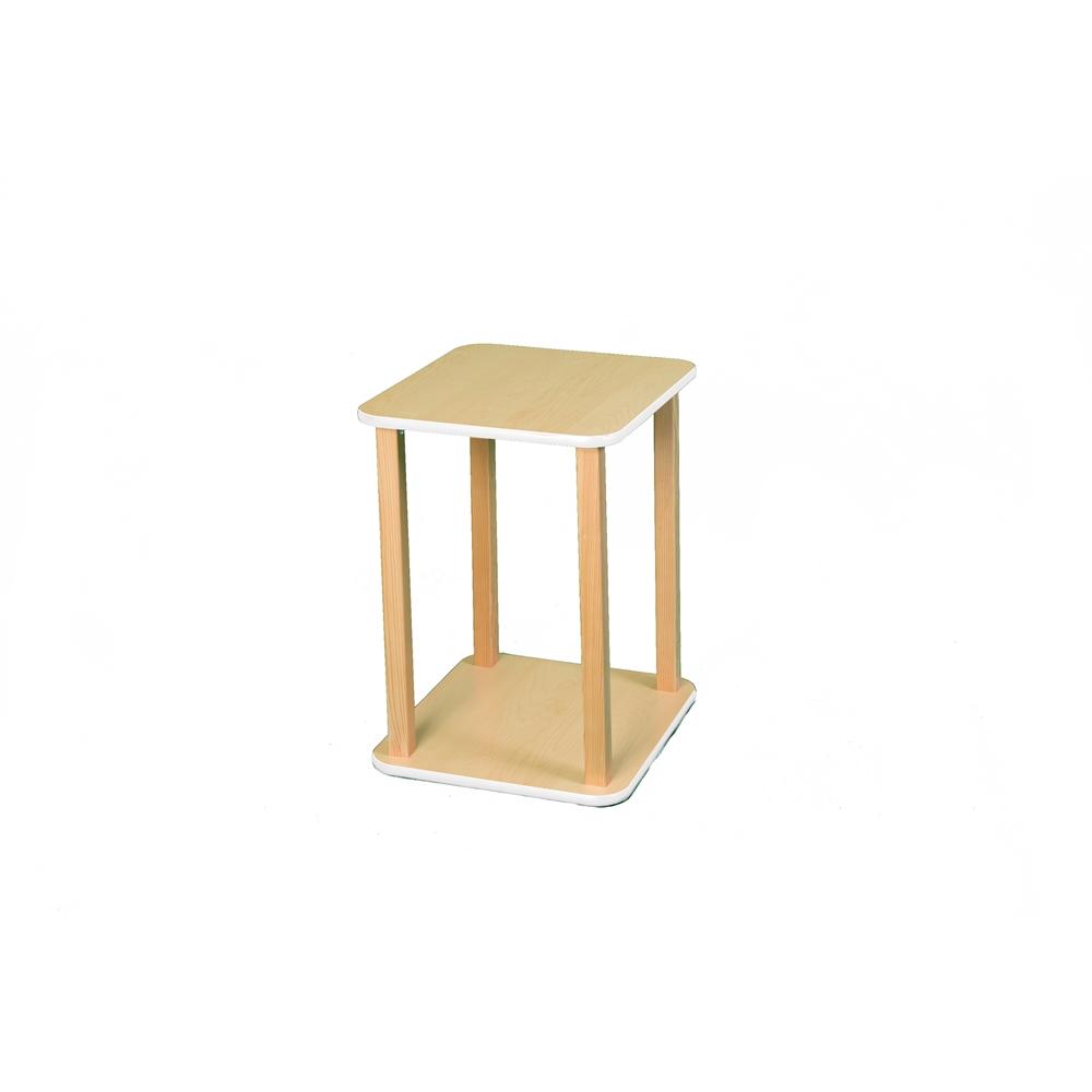 CPU/Printer stand, Maple/White. Picture 1