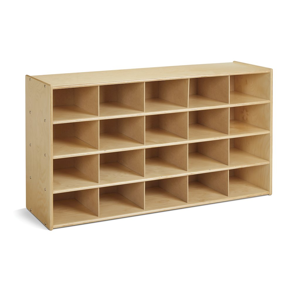 25 Cubbie-Tray Storage - without Bins. Picture 1