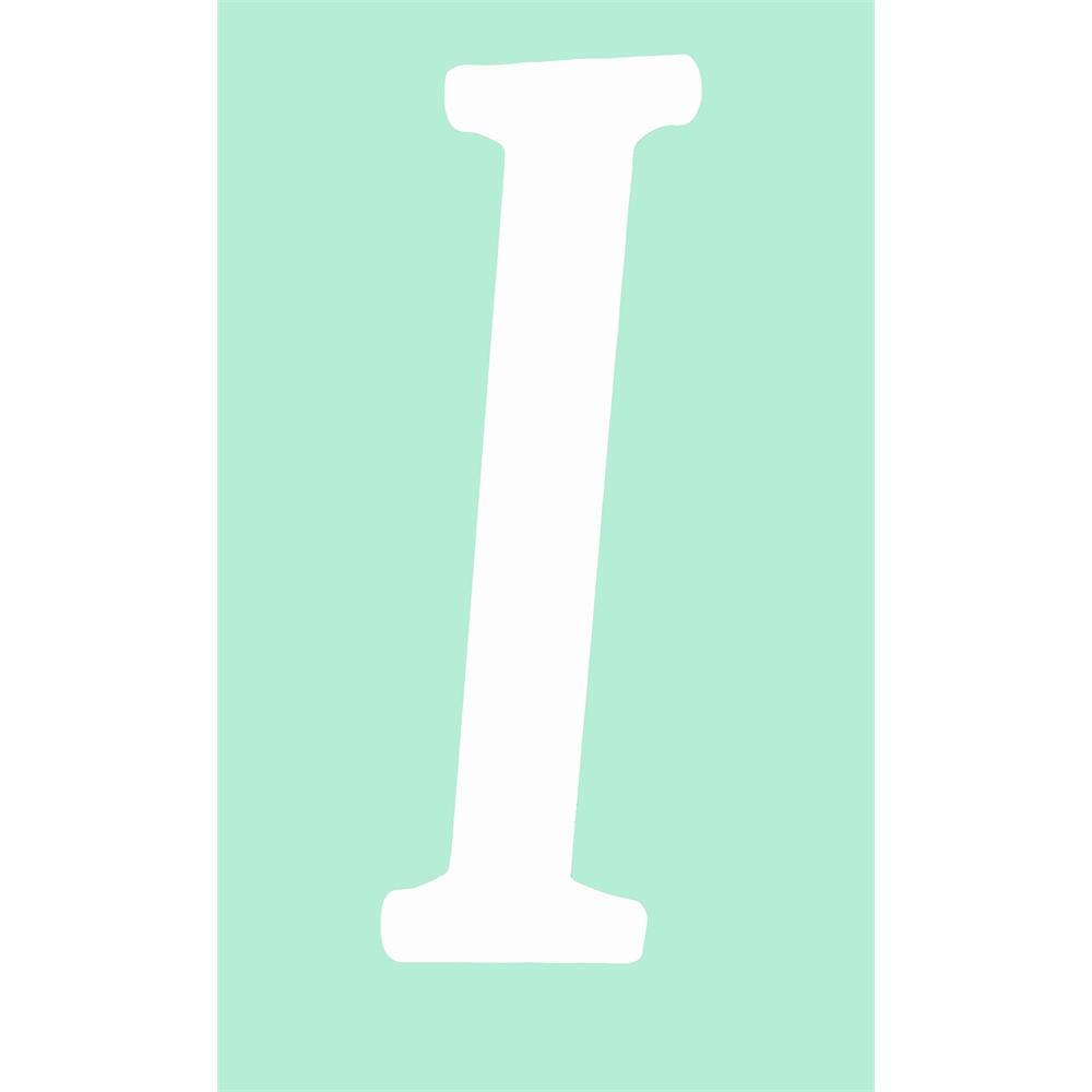 White Capital Letter i