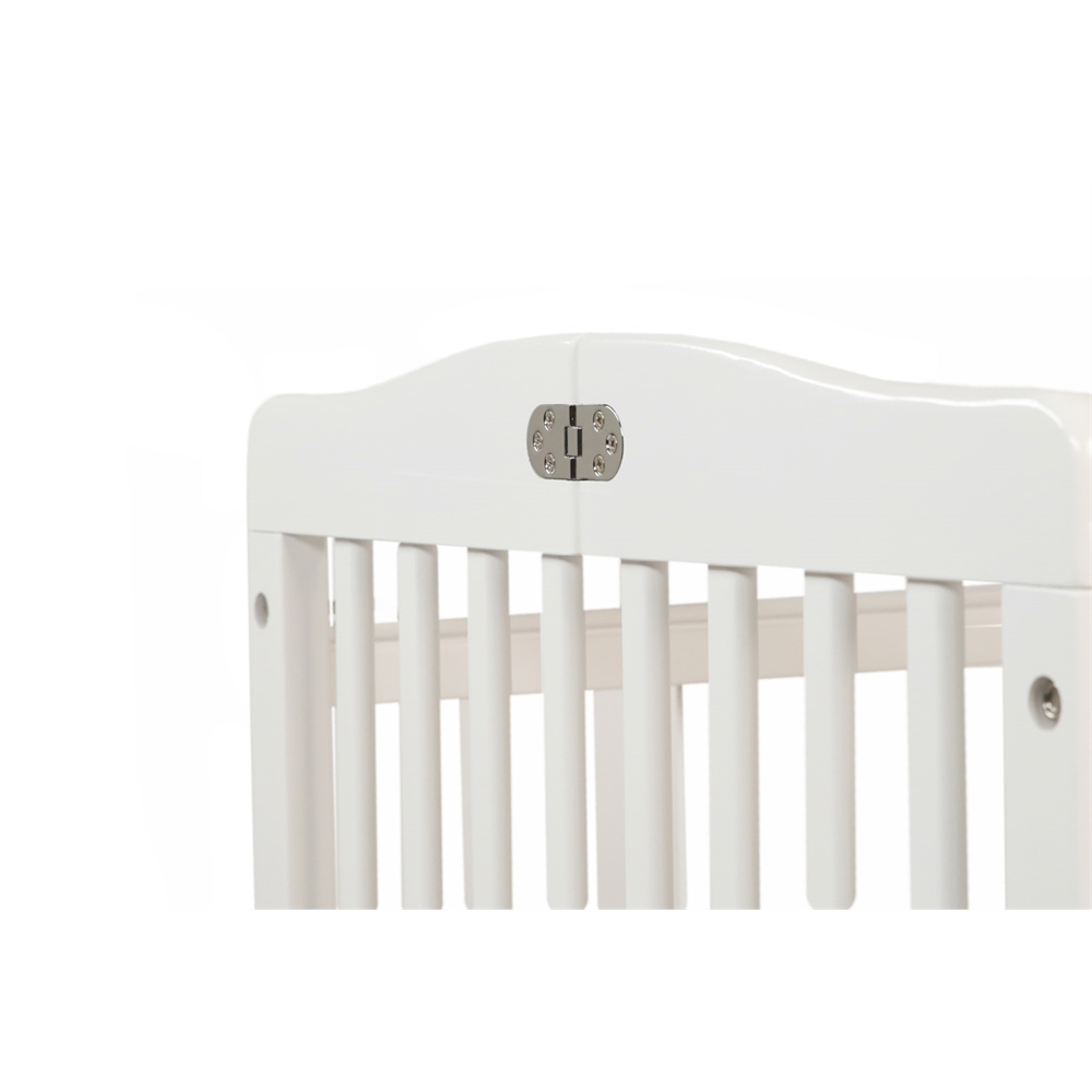 The Little Wood Crib – White, White. Picture 4