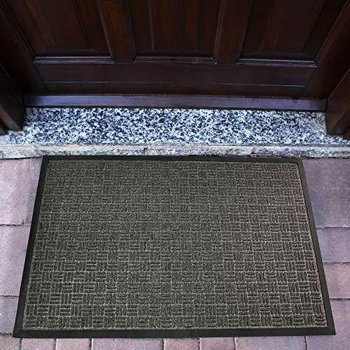 """Doortex Ribmat heavy duty Indoor / Outdoor Entrance mat in Charcoal (48""""x72""""). Picture 1"""