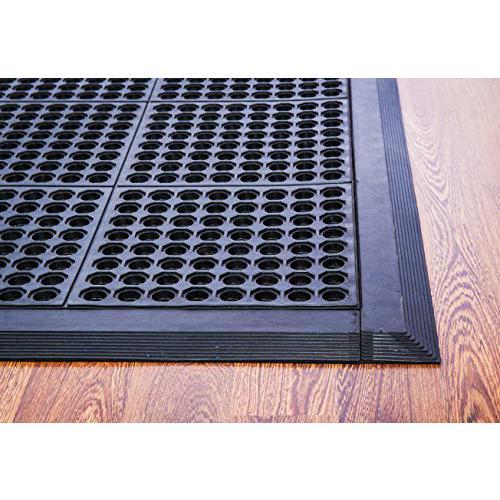 """Doortex Anti-FatigueMat - Open Top 32"""" x 48"""" - Black. Picture 1"""