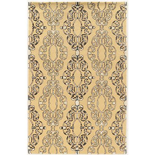Aspire Wool Cameo Cream/Grey 8x11 Rug. Picture 1