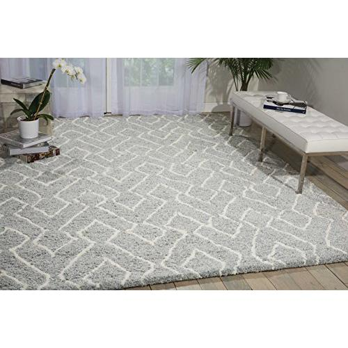"Galway Area Rug, Slate/Ivory, 7'6"" x 9'6"". The main picture."