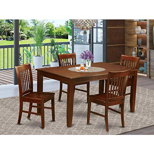 5  Pc  Dining  room  set  for  4-Dining  Table  and  4  Chairs  for  Dining  room. Picture 1