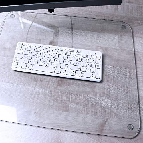 "Glass Desk Pad - 20"" x 36"". Picture 1"