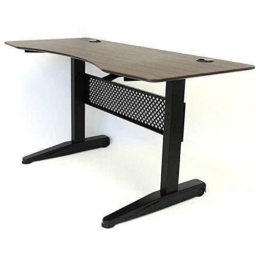 60 Inch Gas Lift Desk Mocha Color, 2 Boxes. Picture 1