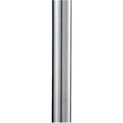 7' Smooth Aluminum Direct Burial Post with Photo Cell. Picture 1