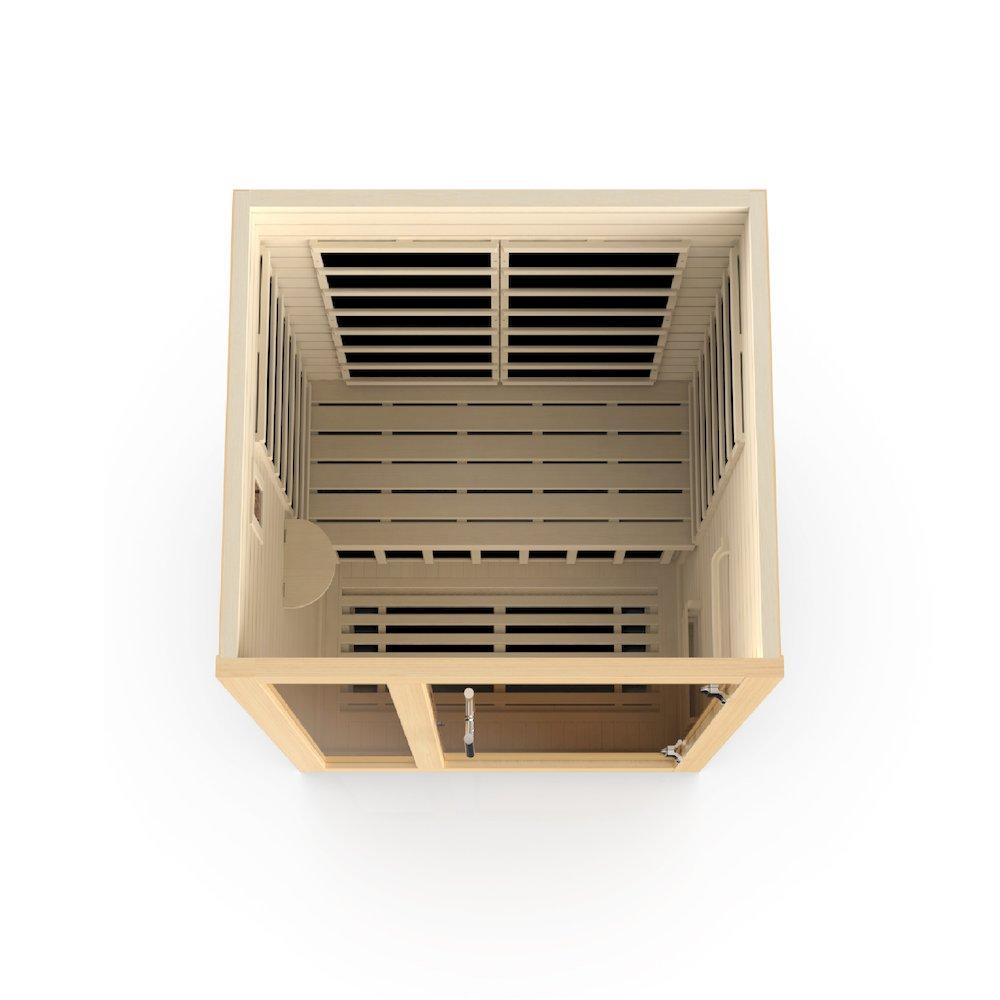 "Dynamic ""Amodora"" 2-person Low EMF Far Infrared Sauna. Picture 4"