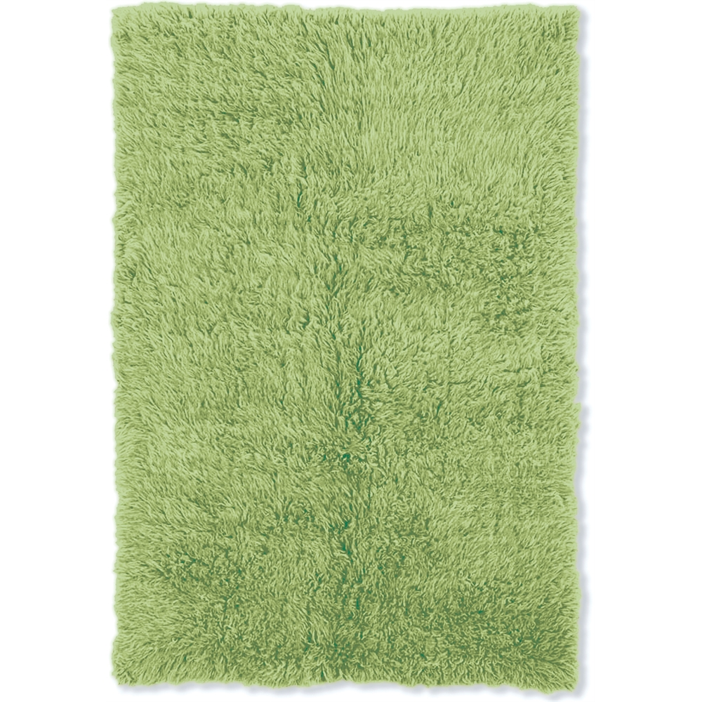 New Flokati 1400grams Lime Green  2.4 x 4.3 Rug. Picture 1