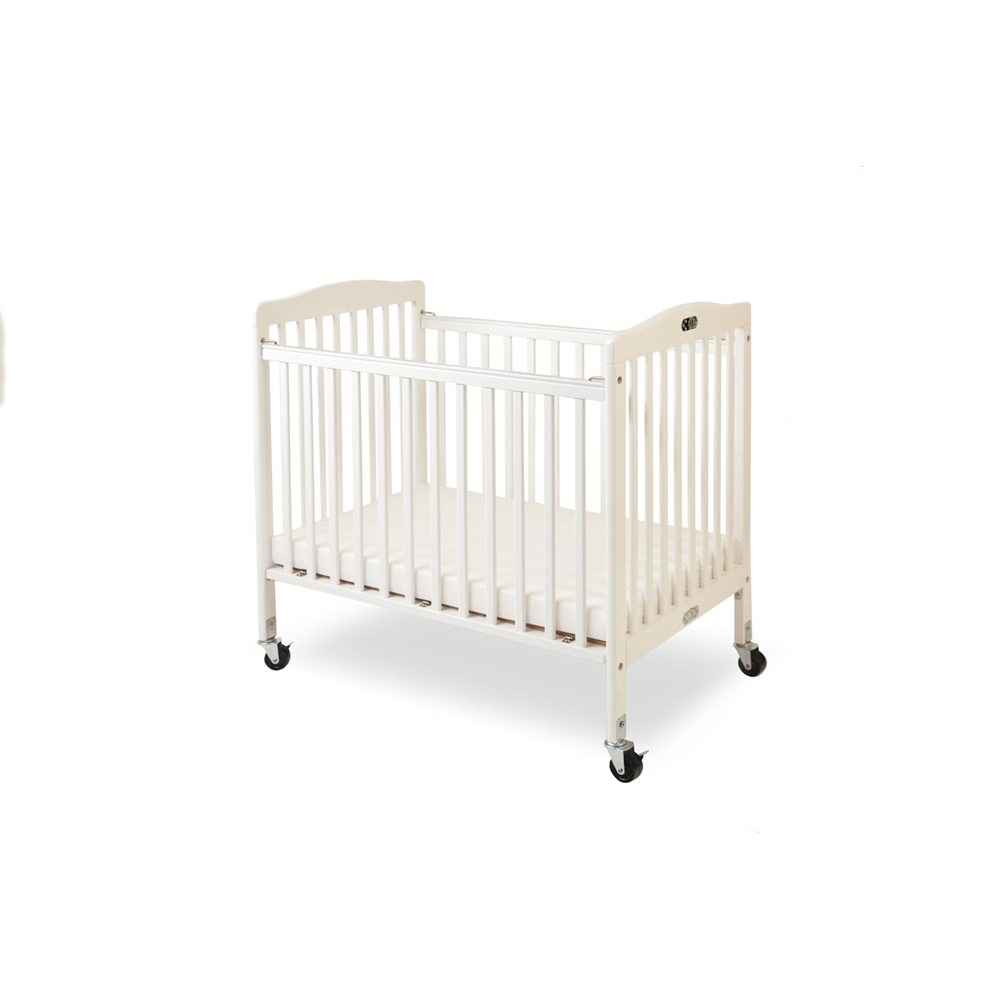 The Little Wood Crib – White, White. Picture 1