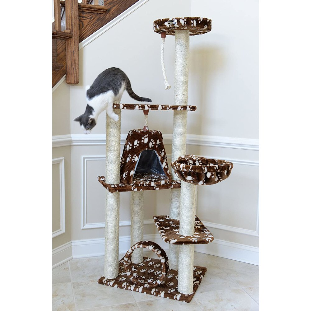 Model A6601 Classic Cat Tree with Four Play Features, Jackson Galaxy Approved. Picture 3