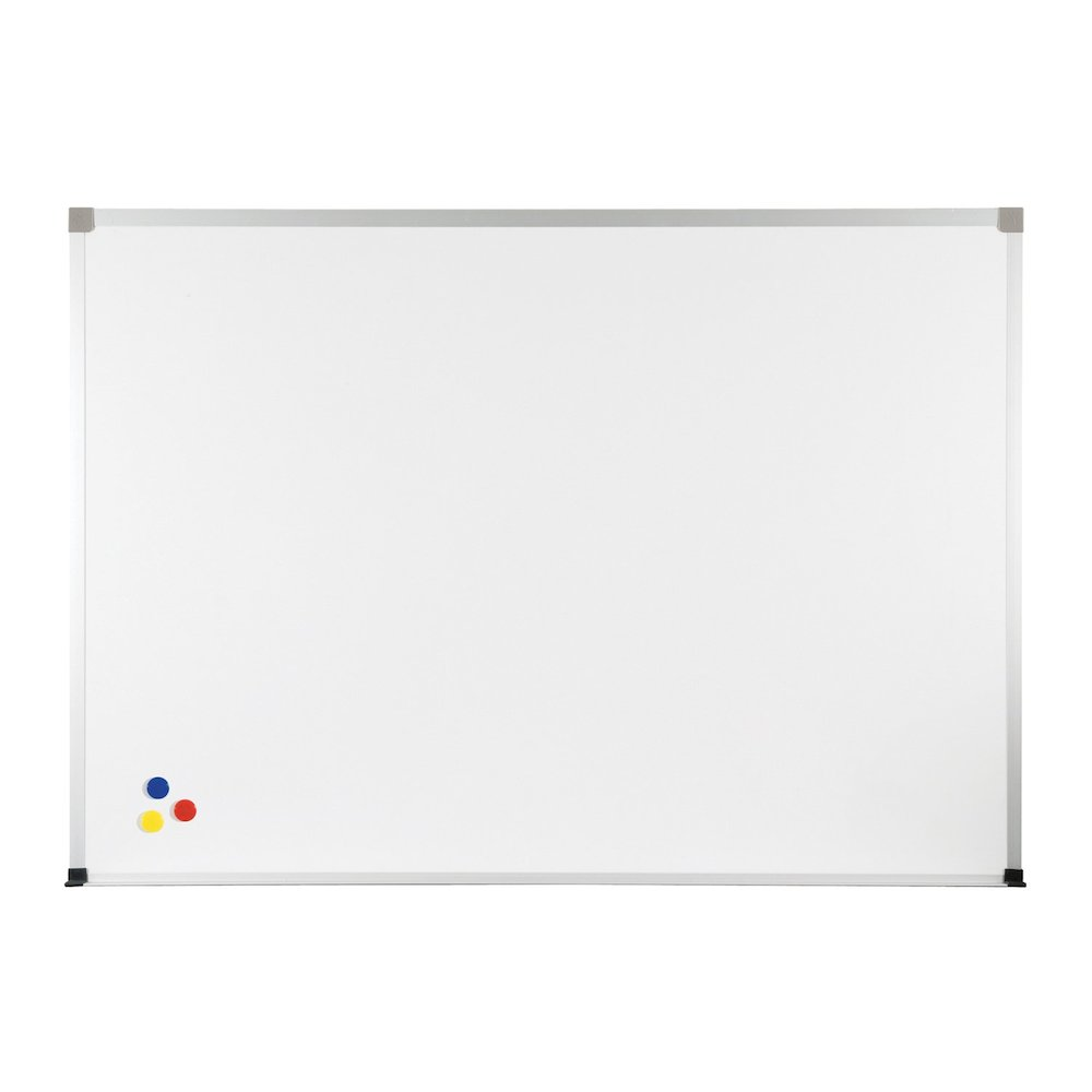 """Markerboard - 36"""" (3 ft) W x 24"""" (2 ft) H - White Porcelain Steel Surface. Picture 1"""